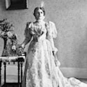 Ida Saxton Mckinley (1847-1907) Art Print