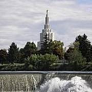 Idaho Falls Temple Art Print