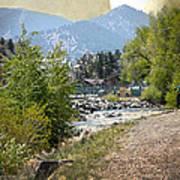 Idaho Springs Paradise Art Print