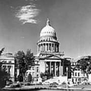 Idaho State Capitol Building Art Print