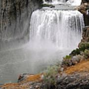 Idaho Waterfall Art Print