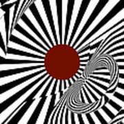 Ideology W/ Red Art Print