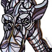 iGiraffe Art Print