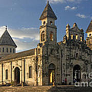 Iglesia De Guadelupe In Granada Nicaragua Art Print