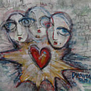 Ignite Love Number 1 Art Print