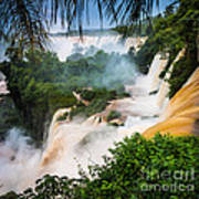 Iguazu Natural Wonder Art Print