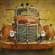 Ih Truck Art Print