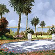 Il Giardino Delle Palme Art Print