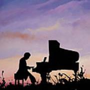Il Pianista Art Print