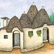 Il Trullo Alberobello Art Print