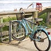 Ill Get My Bike Art Print