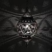 Illuminated Hanging Light Fixture Art Print