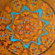 Illustrious Hue Mandala Art Print