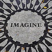 Imagine A World Of Peace Art Print