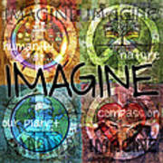 Imagine Print by Evie Cook