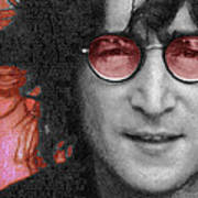 Imagine John Lennon Again Art Print by Tony Rubino