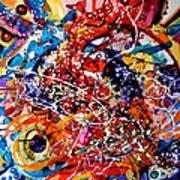 Imbratisarea Curcubeului Art Print