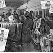 Immigrant Coach Car, 1881 Art Print
