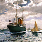 Immigrant Ship, 1893 Art Print
