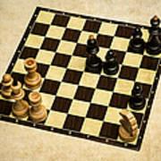 Immortal Chess - Anand Vs Topalov 2005 Art Print