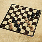 Immortal Chess - Kasparov Vs Topalov 1999 Art Print