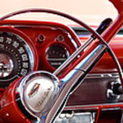 Red Belair With Dice Art Print