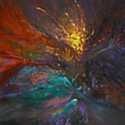 Impatiens Explosion Art Print