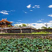 Imperial City Hue Vietnam Art Print