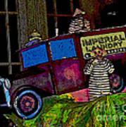 Imperial Laundry Truck Art Print
