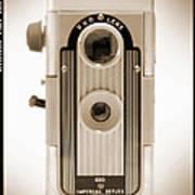 Imperial Reflex Camera Art Print