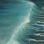 Impetus Summer Wave Art Print