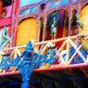 Impressionistic Photo Paint Ls 005 Art Print