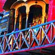 Impressionistic Photo Paint Ls 006 Art Print