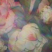 Impressionistic Spring Bouquet Art Print