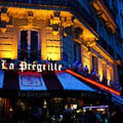 Impressions Of Paris - Latin Quarter Night Life Art Print