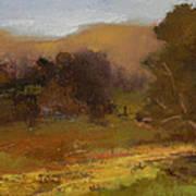 Impressions Of Portola Pastures Art Print