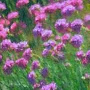 Impressions Of Purple Art Print