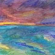 Impressions Of The Sea 1 Art Print