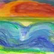 Impressions Of The Sea 4 Art Print