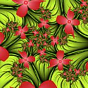 In A Flower Meadow Art Print