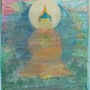 In A Fog Buddha Art Print