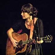 In Concert With Folk Singer Pieta Brown Art Print