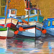 In Harbor Art Print