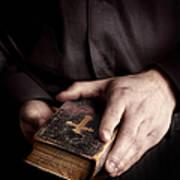 In His Hands Art Print
