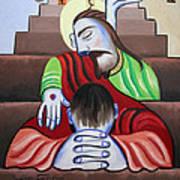 In Jesus Name Art Print