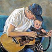 In Memory Of Baby Jordan Art Print