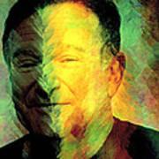 In Memory Of Robin Williams Art Print