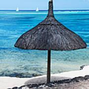 In Perfect Balance. Beach Life Art Print