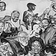 In Praise Of Jazz V Art Print