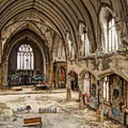 Faith In Ruins Art Print